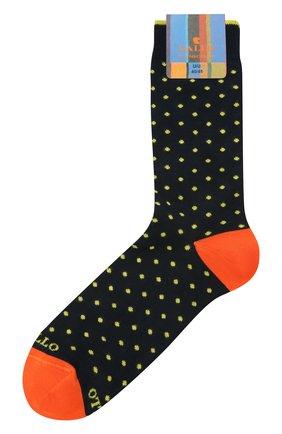 Мужские хлопковые носки GALLO темно-синего цвета, арт. AP103614 | Фото 1
