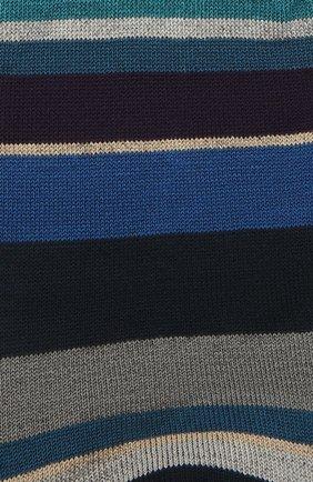Мужские хлопковые носки GALLO темно-синего цвета, арт. AP103480 | Фото 2