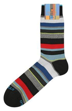 Мужские хлопковые носки GALLO черного цвета, арт. AP103480 | Фото 1