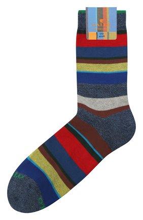 Мужские хлопковые носки GALLO синего цвета, арт. AP103415 | Фото 1