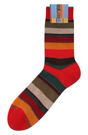 Мужские хлопковые носки GALLO красного цвета, арт. AP103415 | Фото 1