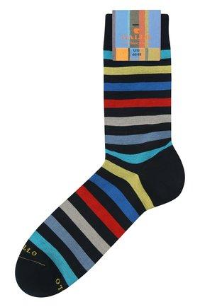 Мужские хлопковые носки GALLO темно-синего цвета, арт. AP103161 | Фото 1