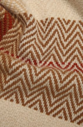 Мужской кашемировый шарф LORO PIANA бежевого цвета, арт. FAL3958 | Фото 2