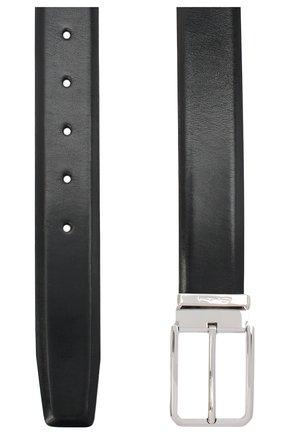 Мужской кожаный ремень SANTONI темно-синего цвета, арт. CM35NS003B90EVVDU59 | Фото 2