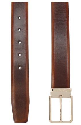 Мужской кожаный ремень SANTONI коричневого цвета, арт. CM35NS003B90HNGWM61 | Фото 2