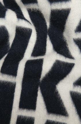Мужской кашемировый шарф KITON темно-синего цвета, арт. USCIACX03T08 | Фото 2