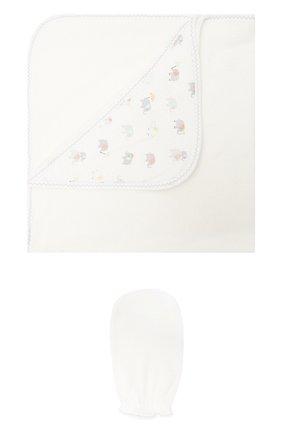 Комплект из полотенца и банной рукавицы | Фото №1