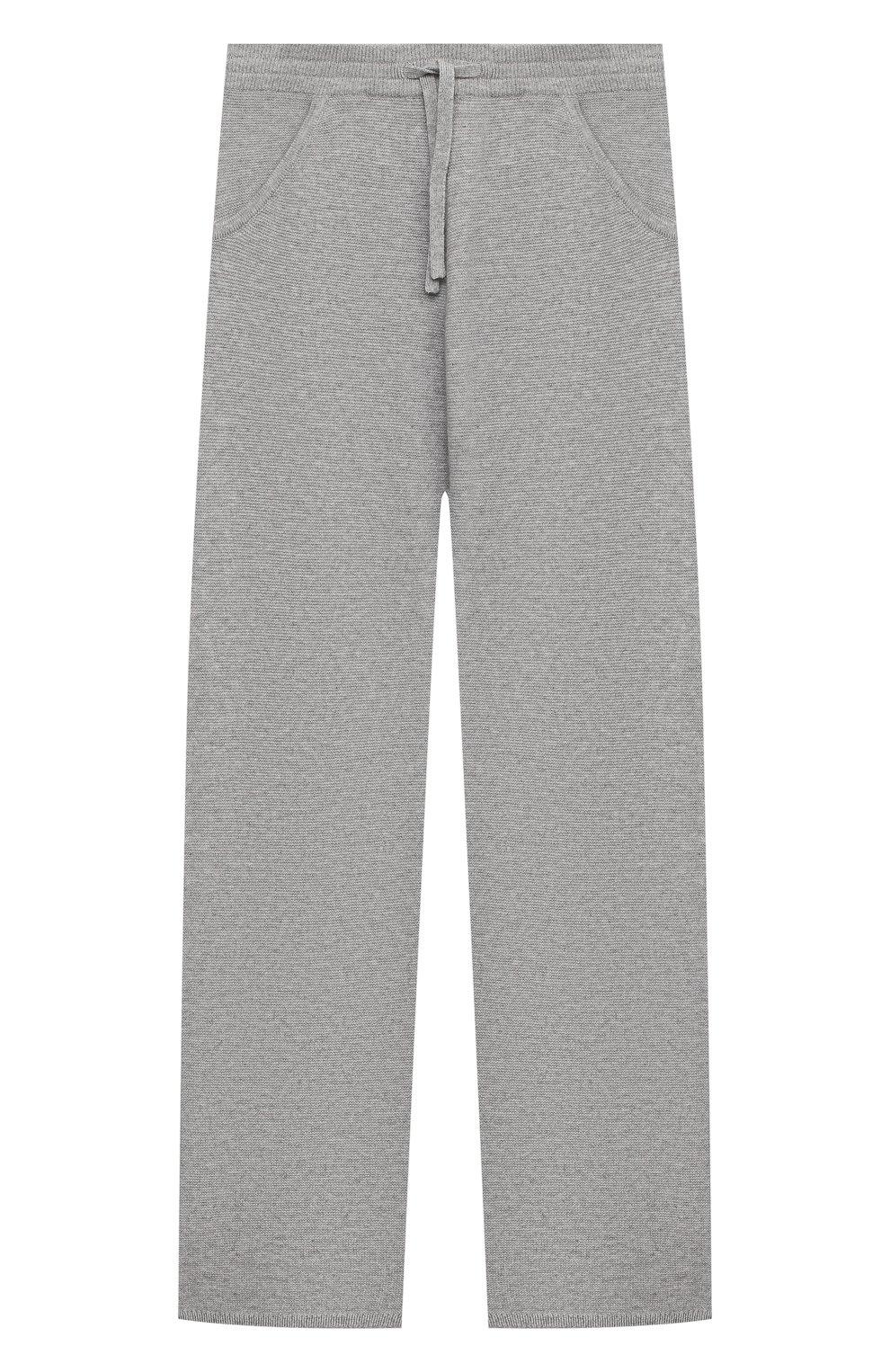 Детские кашемировые брюки LORO PIANA серого цвета, арт. FAL3725   Фото 1