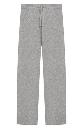 Детские кашемировые брюки LORO PIANA серого цвета, арт. FAL3725 | Фото 1