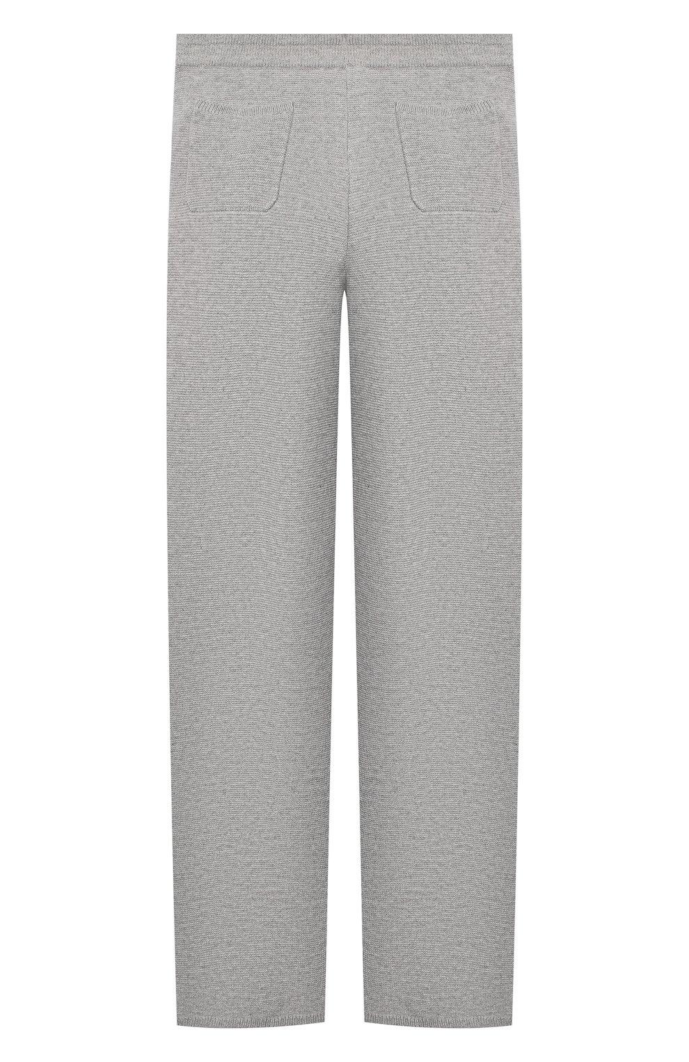 Детские кашемировые брюки LORO PIANA серого цвета, арт. FAL3725   Фото 2