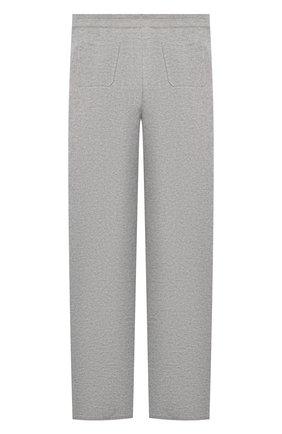 Детские кашемировые брюки LORO PIANA серого цвета, арт. FAL3725 | Фото 2