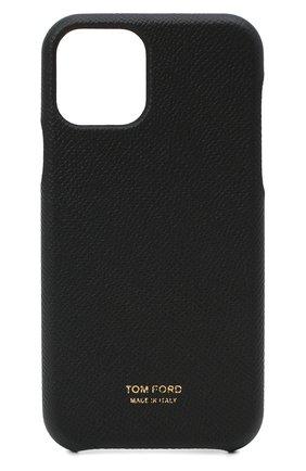 Мужской чехол iphone 11 pro TOM FORD черного цвета, арт. YM307T-LCL081 | Фото 1