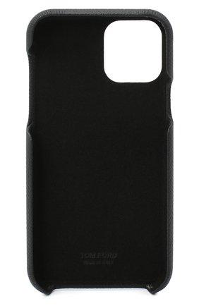 Мужской чехол iphone 11 pro TOM FORD черного цвета, арт. YM307T-LCL081 | Фото 2