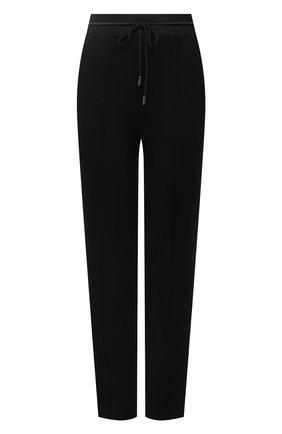 Женские брюки CHANTAL THOMASS черного цвета, арт. TTC270   Фото 1