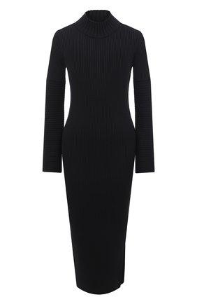 Женское платье BOSS черного цвета, арт. 50445528 | Фото 1