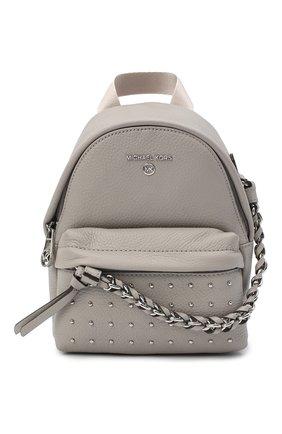 Женский рюкзак slater MICHAEL MICHAEL KORS серого цвета, арт. 30F0S04B0I | Фото 1