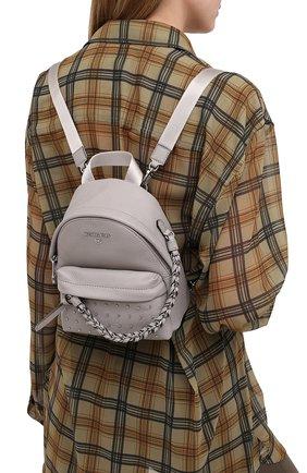 Женский рюкзак slater MICHAEL MICHAEL KORS серого цвета, арт. 30F0S04B0I | Фото 2
