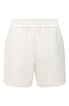 Женские хлопковые шорты BRUNELLO CUCINELLI белого цвета, арт. MH827SF389 | Фото 1