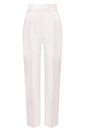 Женские льняные брюки BRUNELLO CUCINELLI белого цвета, арт. MH506P7647 | Фото 1