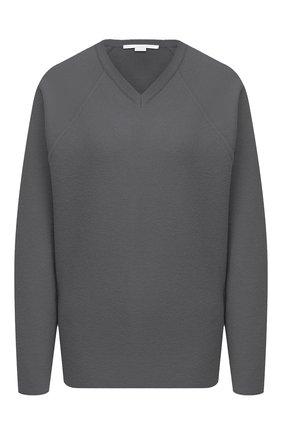 Женский шерстяной пуловер STELLA MCCARTNEY серого цвета, арт. 602190/S2221 | Фото 1