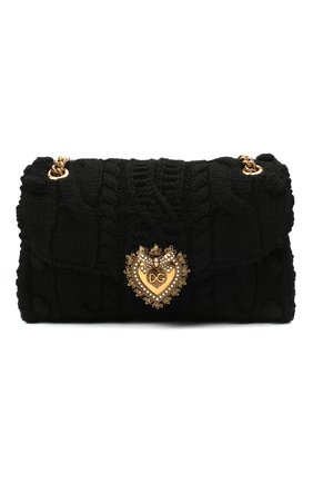Женская сумка devotion DOLCE & GABBANA черного цвета, арт. BB6949/A0107 | Фото 1
