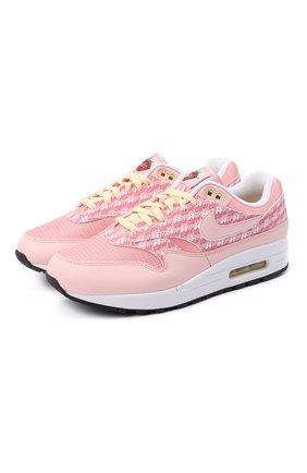 Мужские кроссовки air max 1 premium strawberry lemonade NIKELAB розового цвета, арт. CJ0609-600 | Фото 1