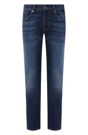 Мужские джинсы 7 FOR ALL MANKIND синего цвета, арт. JSMSK850CX | Фото 1