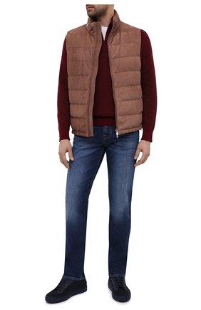 Мужские джинсы 7 FOR ALL MANKIND синего цвета, арт. JSMSK850CX | Фото 2