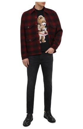 Мужская шерстяная куртка RRL красного цвета, арт. 782804605 | Фото 2