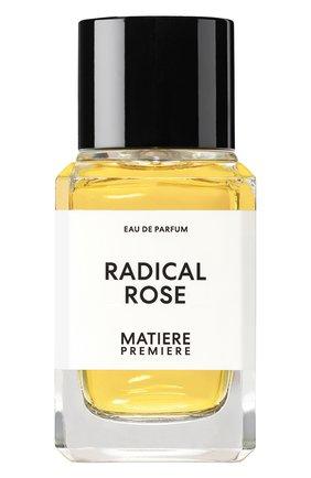 Женский парфюмерная вода radical rose MATIERE PREMIERE бесцветного цвета, арт. 3770007317469 | Фото 1