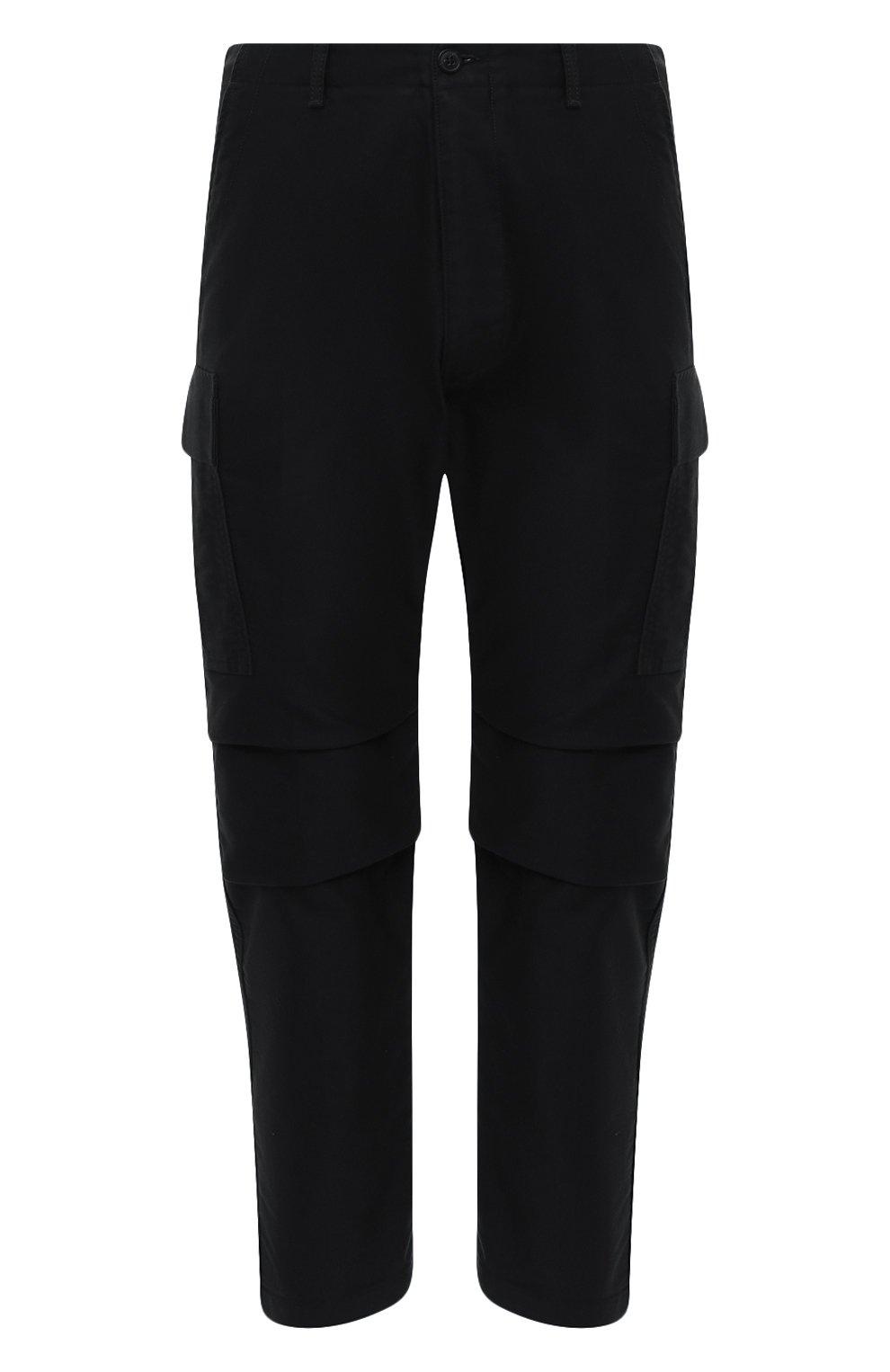 Мужские хлопковые брюки-карго TOM FORD черного цвета, арт. BW141/TFP223 | Фото 1 (Силуэт М (брюки): Карго; Длина (брюки, джинсы): Стандартные; Случай: Повседневный; Материал внешний: Хлопок; Стили: Кэжуэл)