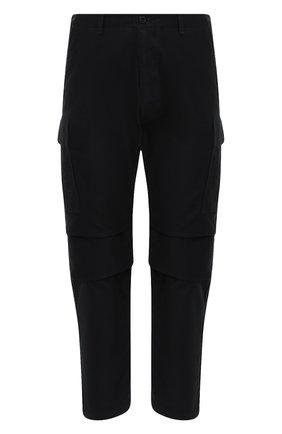Мужской хлопковые брюки-карго TOM FORD черного цвета, арт. BW141/TFP223 | Фото 1
