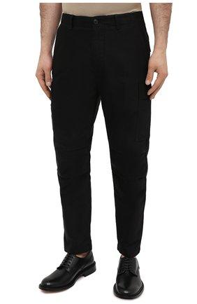 Мужские хлопковые брюки-карго TOM FORD черного цвета, арт. BW141/TFP223 | Фото 3 (Силуэт М (брюки): Карго; Длина (брюки, джинсы): Стандартные; Случай: Повседневный; Материал внешний: Хлопок; Стили: Кэжуэл)