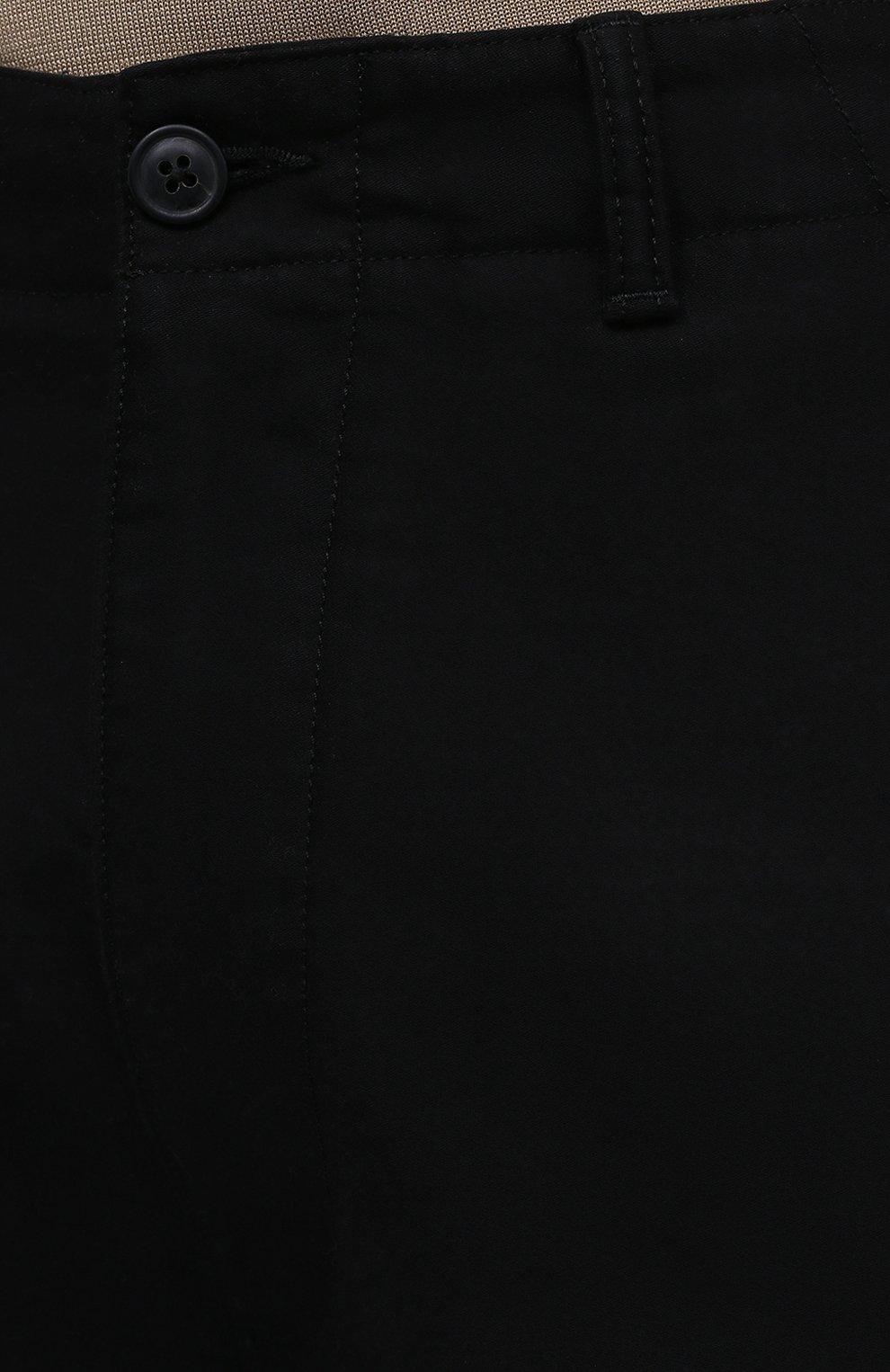 Мужские хлопковые брюки-карго TOM FORD черного цвета, арт. BW141/TFP223 | Фото 5 (Силуэт М (брюки): Карго; Длина (брюки, джинсы): Стандартные; Случай: Повседневный; Материал внешний: Хлопок; Стили: Кэжуэл)