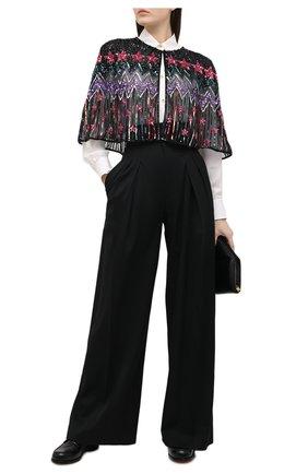 Женская накидка JENNY PACKHAM черного цвета, арт. HHAP101 | Фото 2