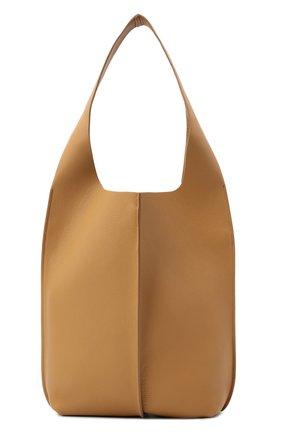 Женский сумка-шопер ACNE STUDIOS коричневого цвета, арт. A10044 | Фото 1