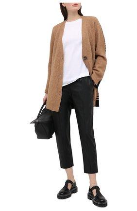 Женские брюки из экокожи NUDE черного цвета, арт. 1103029/TR0USERS | Фото 2