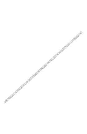 Женский браслет MERCURY бесцветного цвета, арт. MB19867/WG/1BD0.20 | Фото 2 (Материал сплава: Белое золото; Драгоценные камни: Бриллианты)