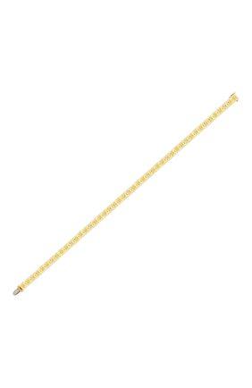Женский браслет MERCURY бесцветного цвета, арт. MB25840/YG/1CUD0.40 | Фото 2 (Материал сплава: Желтое золото; Драгоценные камни: Бриллианты)