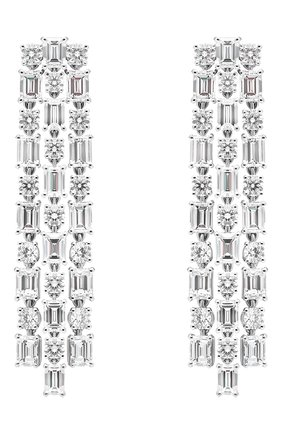 Женские серьги MERCURY бесцветного цвета, арт. ME17299/WG | Фото 1