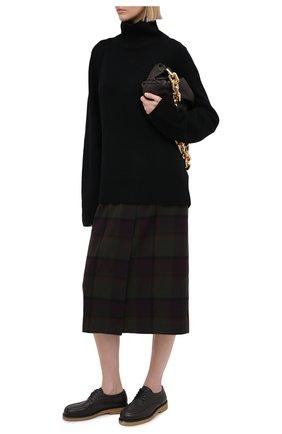 Женская юбка RALPH LAUREN фиолетового цвета, арт. 290825794 | Фото 2