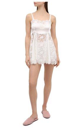Женская сорочка DOLCE & GABBANA белого цвета, арт. 07B10T/FUAD8 | Фото 2