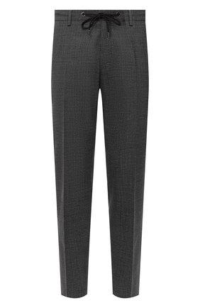 Мужской шерстяные брюки BOSS темно-серого цвета, арт. 50444045 | Фото 1