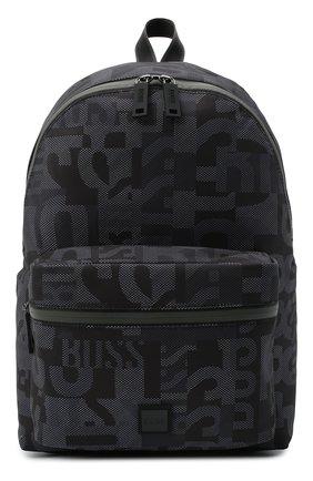 Мужской рюкзак BOSS темно-синего цвета, арт. 50443426 | Фото 1