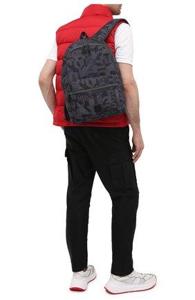 Мужской рюкзак BOSS темно-синего цвета, арт. 50443426 | Фото 2