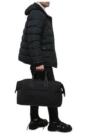 Мужская спортивная сумка BOSS черного цвета, арт. 50446727 | Фото 2