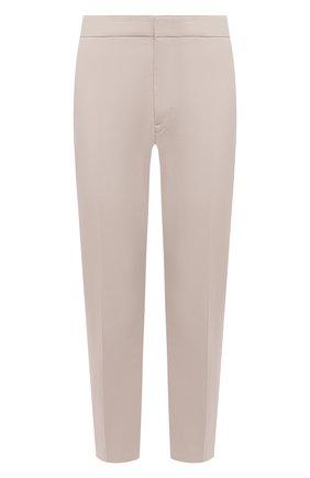 Мужской хлопковые брюки BOGNER бежевого цвета, арт. 18616509 | Фото 1