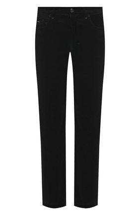 Мужской брюки из хлопка и кашемира ZILLI черного цвета, арт. M0U-D0190-VECA1/R001 | Фото 1