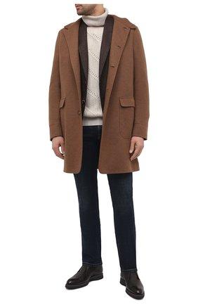Мужской кашемировый свитер LORO PIANA светло-бежевого цвета, арт. FAL3877 | Фото 2
