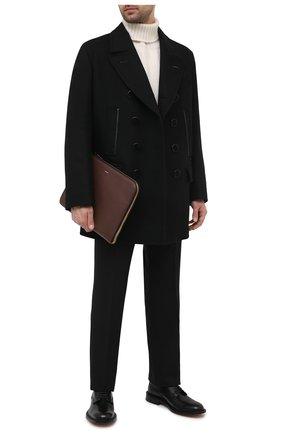 Мужская кожаная папка для документов TOM FORD коричневого цвета, арт. H0355T-LCL037 | Фото 2
